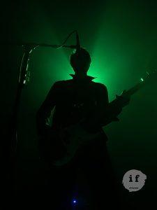 Silhouette of Singer