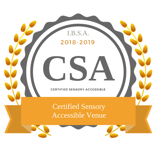 Certified Sensory Accessible Venue Badge