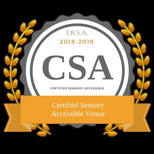 Certified Sensory Accessible Venue Badge