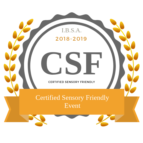 Certified Sensory Friendly Event Badge