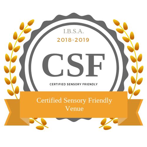 Certified Sensory Friendly Venue Badge