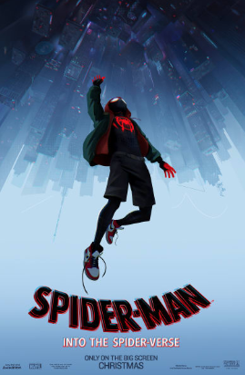 Spiderman into the Spider Verse poster