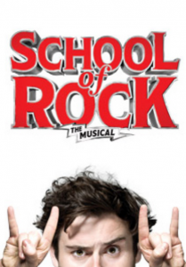Broadway Poster for School of Rock