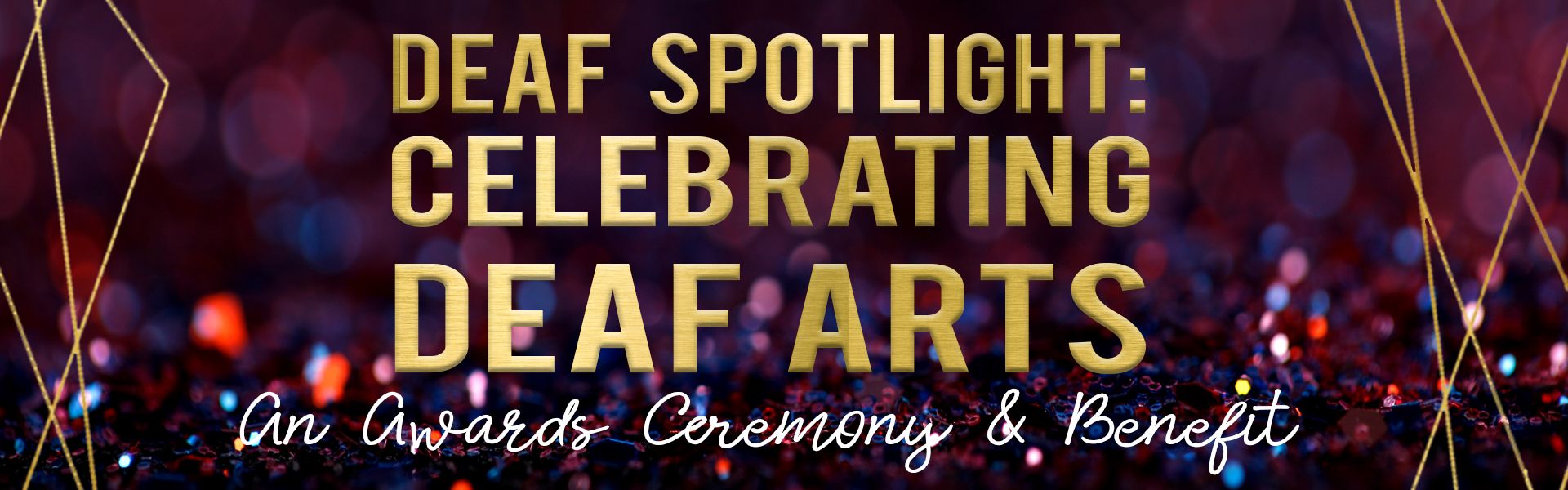 Deaf Spotlight: Celebrating Deaf Arts Poster