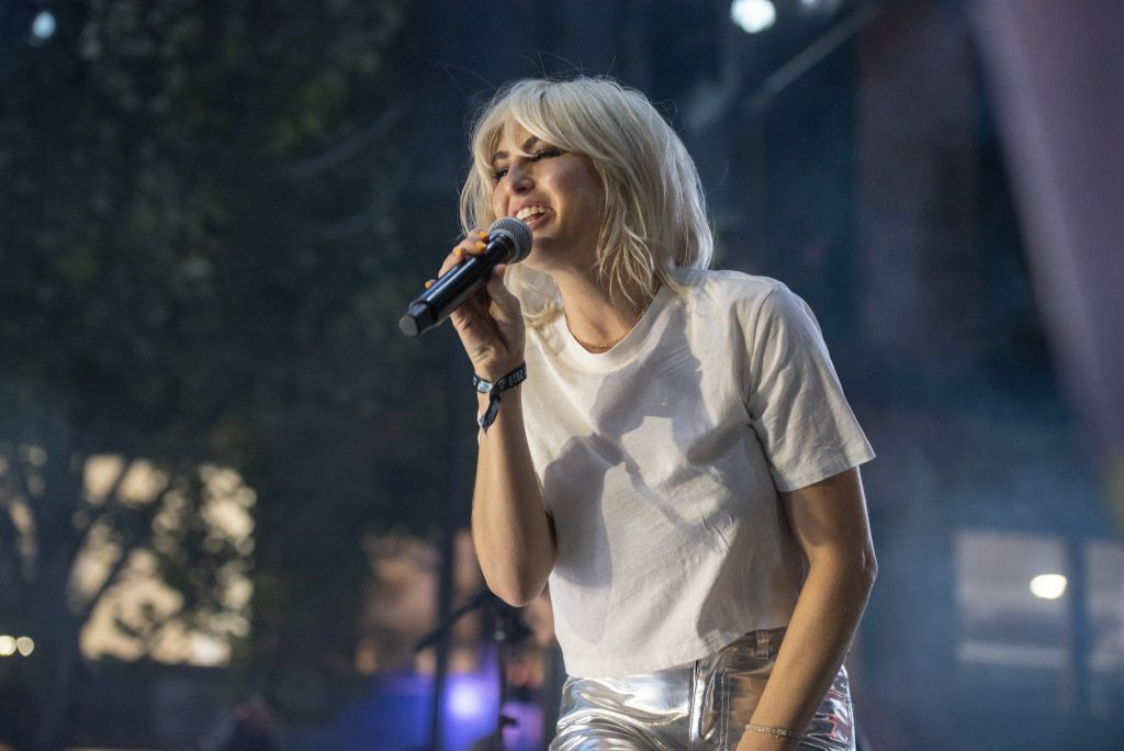 Photo of band Phantogram at CHBP in Seattle