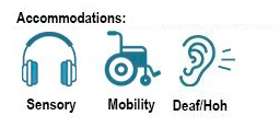 Sensory, Mobility, and Deaf/HoH accessible