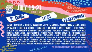 The festival's lineup, headlined by RL Grime, Lizzo, and Phantogram