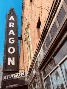 Marquee of the Aragon Ballroom
