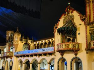 upstairs balconies at Aragon Ballroom