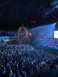 View from Balcony at Aragon Ballroom