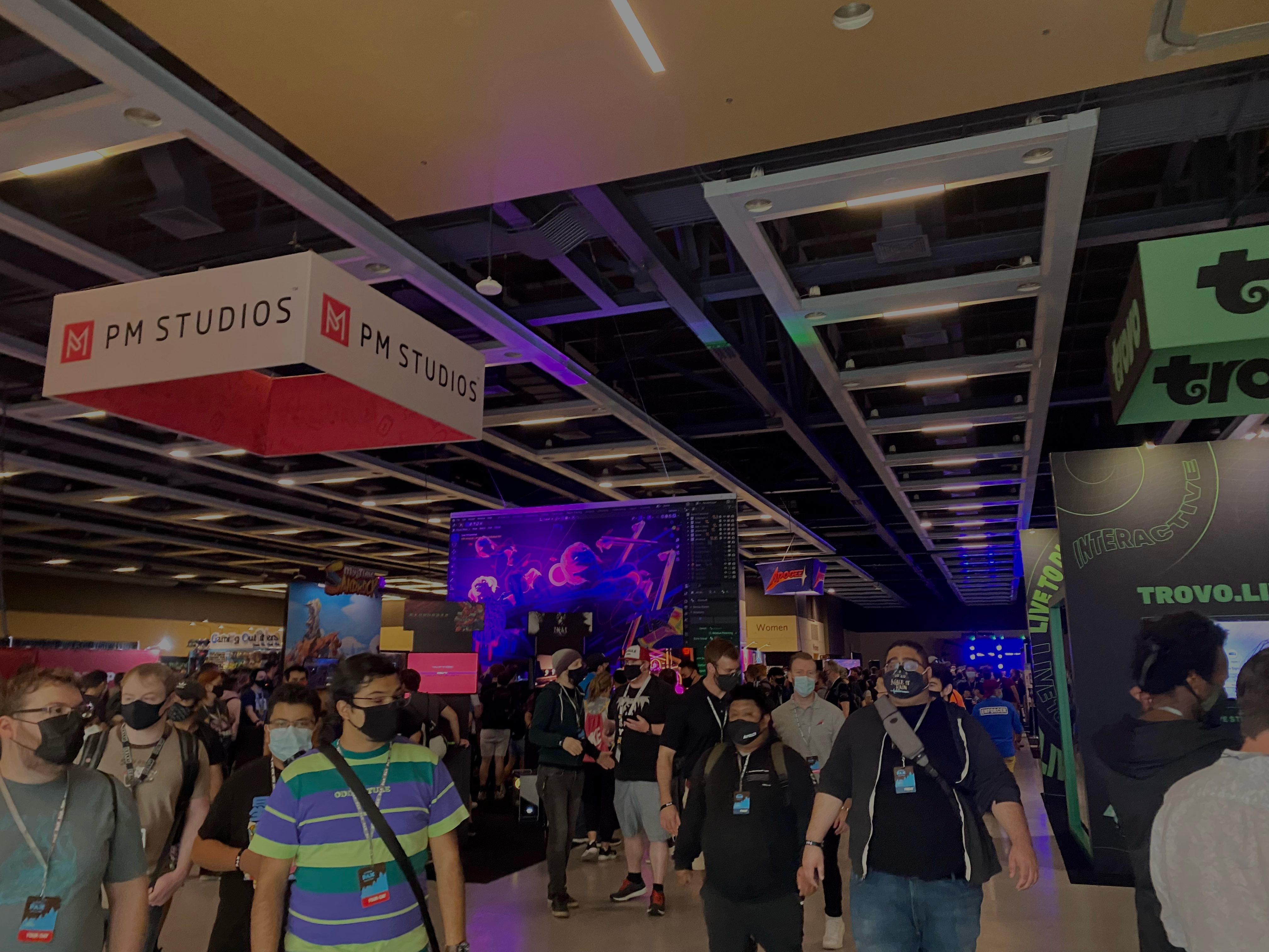 A photo of the crowd at PAX West in Seattle